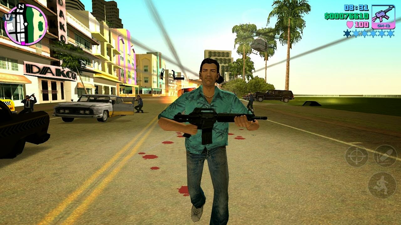 Grand Theft Auto Vice City v1.06 APK + OBB DATA