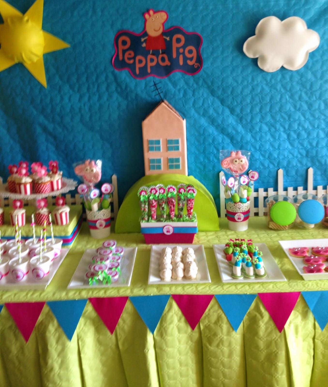 Decoracion de peppa pinterest decoraciones infantiles - Ideas de decoracion ...