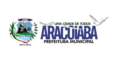 Site da Prefeitura Municipal de Aracoiaba - Ceará