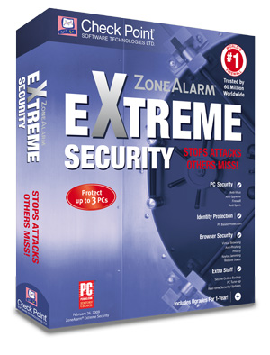 Zone Alarm Extreme Security 2012