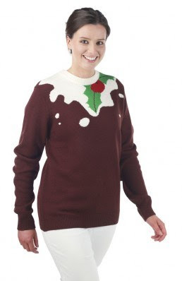 Christmas Jumpers - Christmas Pudding