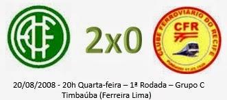 Campeonato Pernambucano Série A2 - América estréia com vitória