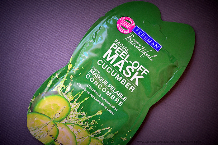 Freeman Feeling Beautiful Cucumber Facial Peel-Off Mask - Review