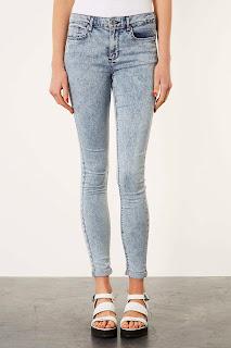 Topshop Bleached Skinny Jeans on Ses Rêveries