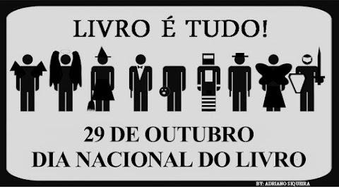 29 de Outubro Dia Nacional do LIVRO