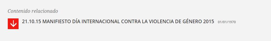 Manifiesto PSOE