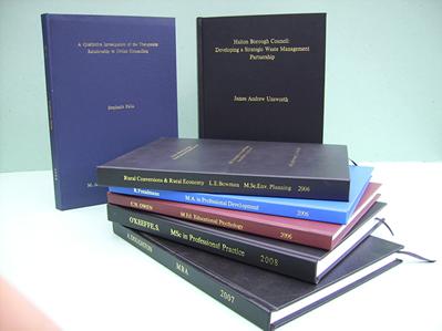 Examples of dissertation topics