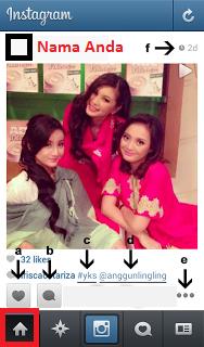 Cara Bermain Instagram Cara Memberi Like Komentar Instagram