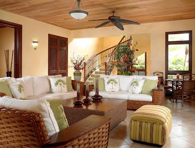 Cottage Living Room Decoration