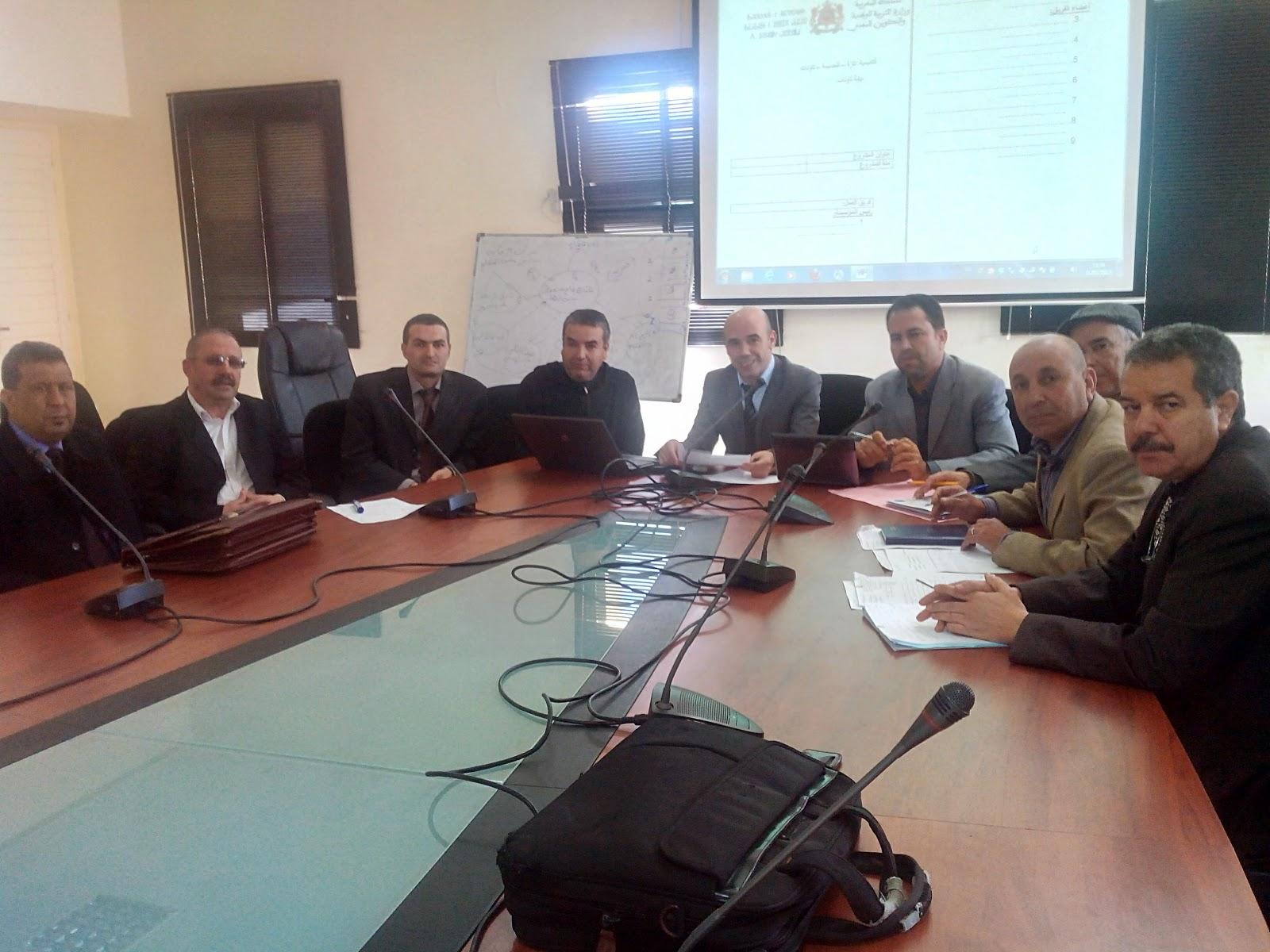 تاونات: الفريق الإقليمي لقيادة مشروع المؤسسة يعقد دورته الثانية بمركز التكوين المستمر