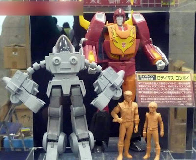 CM's Corporation Transformers Excel Suit (Exo-Suit) with Spike and Daniel