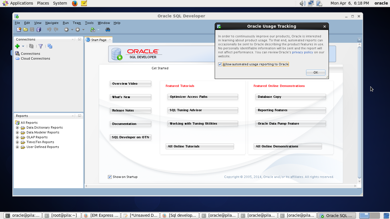 oracle data pump key features