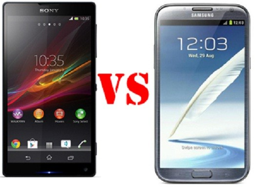 samsung S5 dan Sony Xperia 72