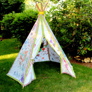 Kid Painted Teepee