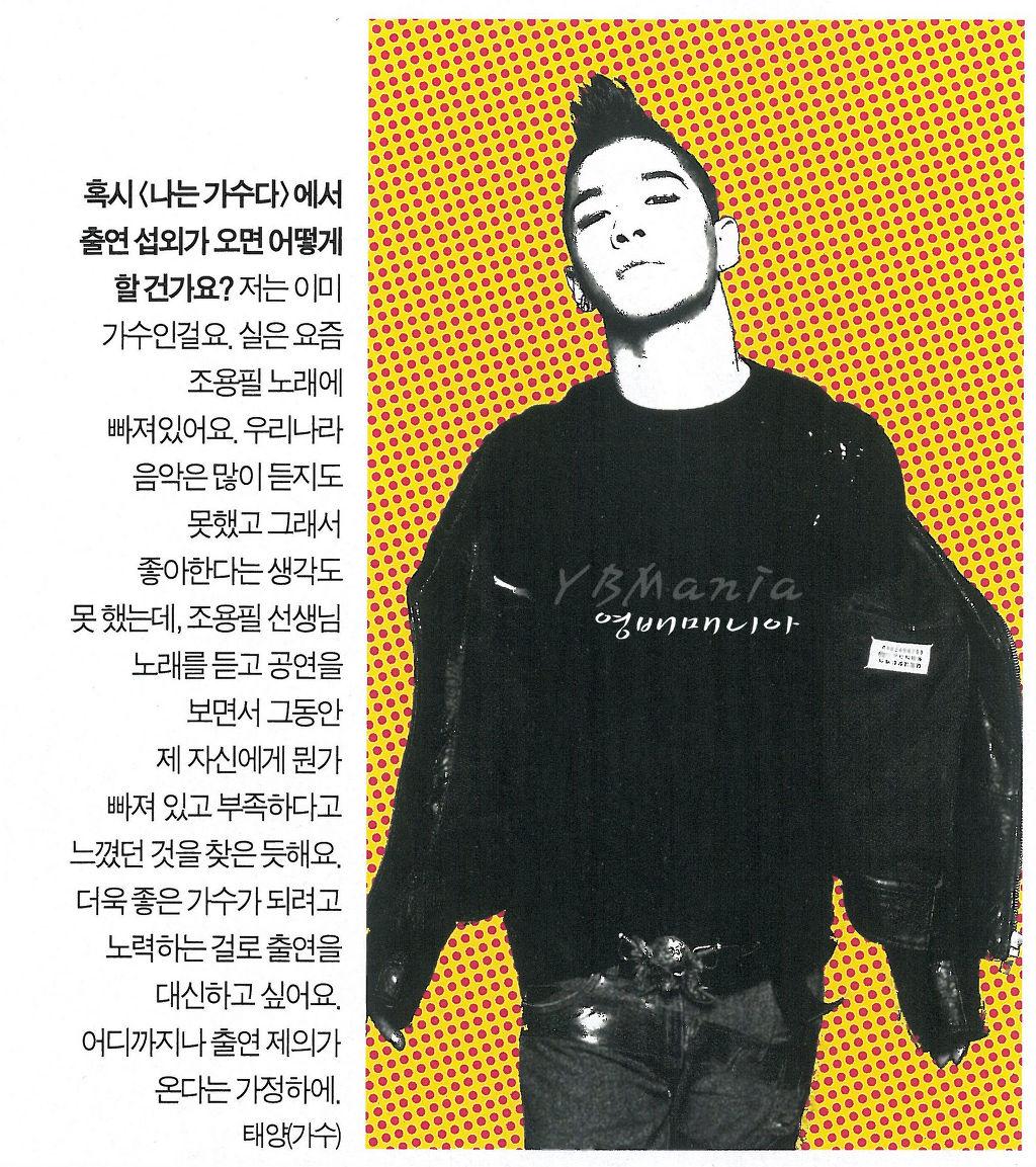 Taeyang  News Taeyang
