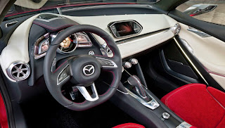 Interior del Mazda Hazumi