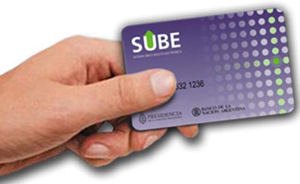 Tarjeta Sube (te baja el dinero que cargas)