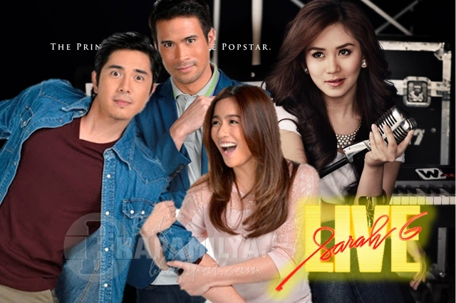 Angeline and Sarah Fight over SAm and Paulo this Sunday on Sarah G Live