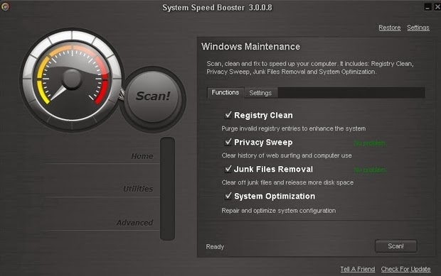 Download System Speed Booster 3.0 Full