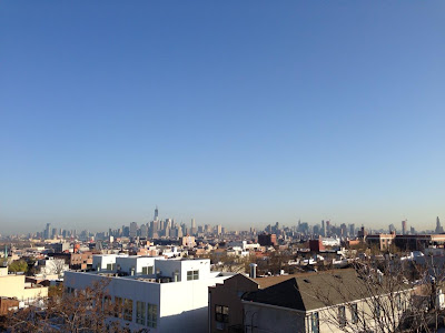 View from our apartment in Brooklyn