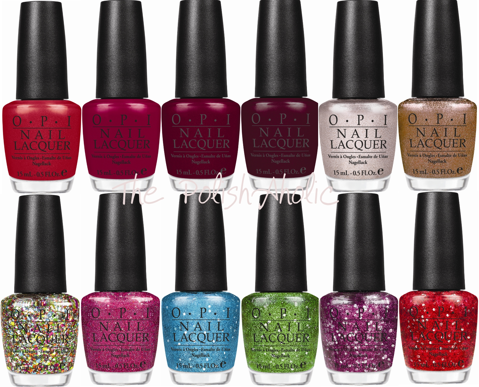 The PolishAholic: OPI Muppets Collection for Holiday 2011 Preview!