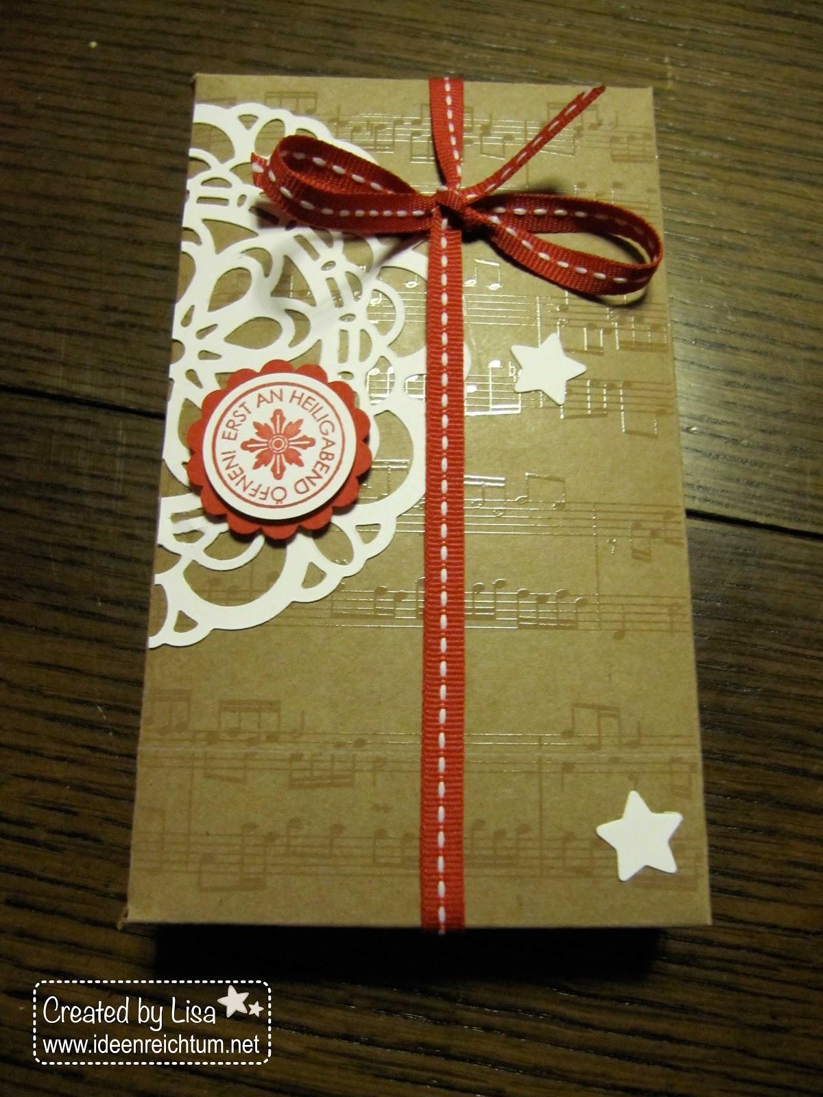 ideenreichtum weihnachtliche verpackungen. Black Bedroom Furniture Sets. Home Design Ideas