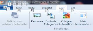 Windows - Galeria de fotografias 2012- novas funções