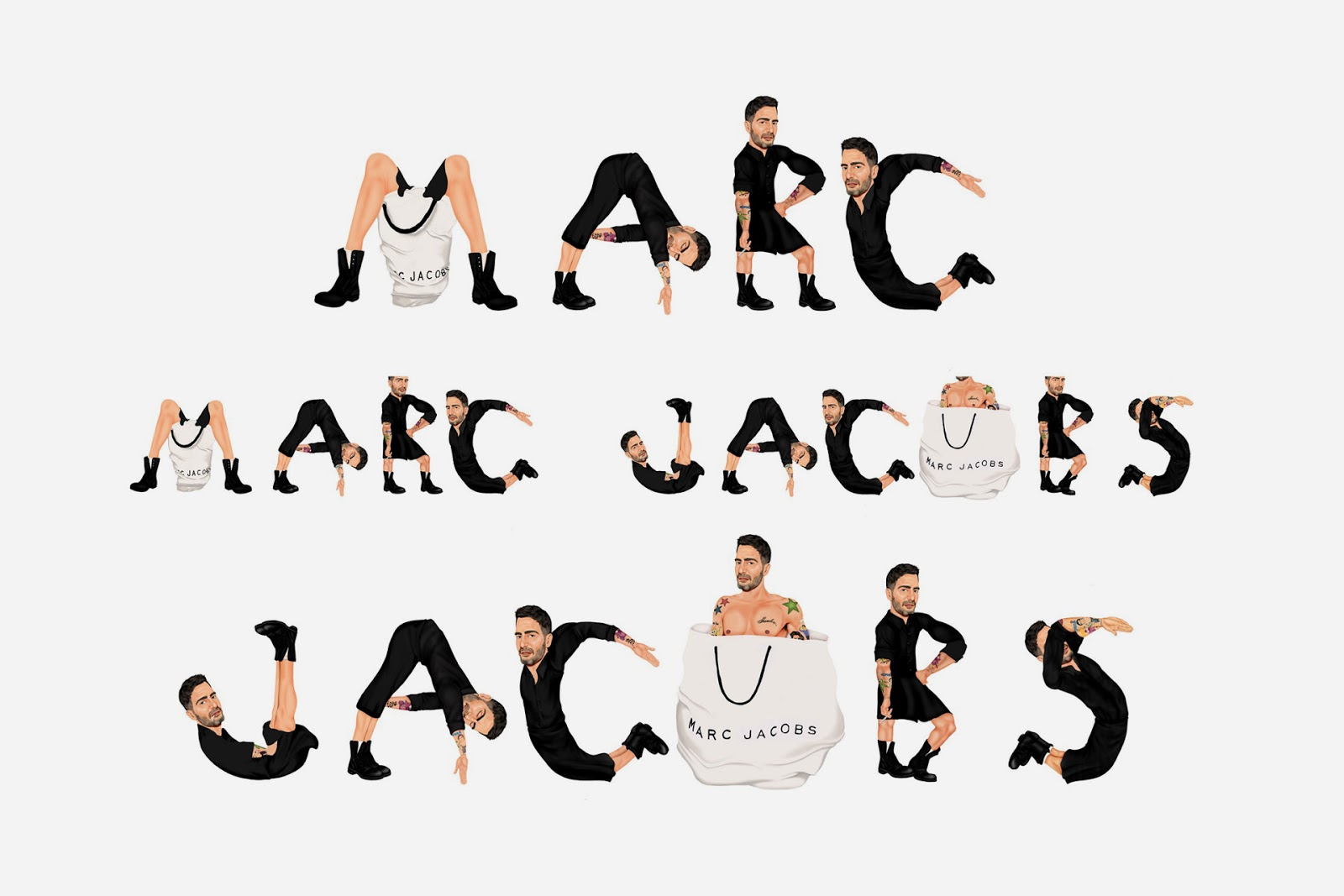 Marc Jacobs logo by Mike Frederiqo