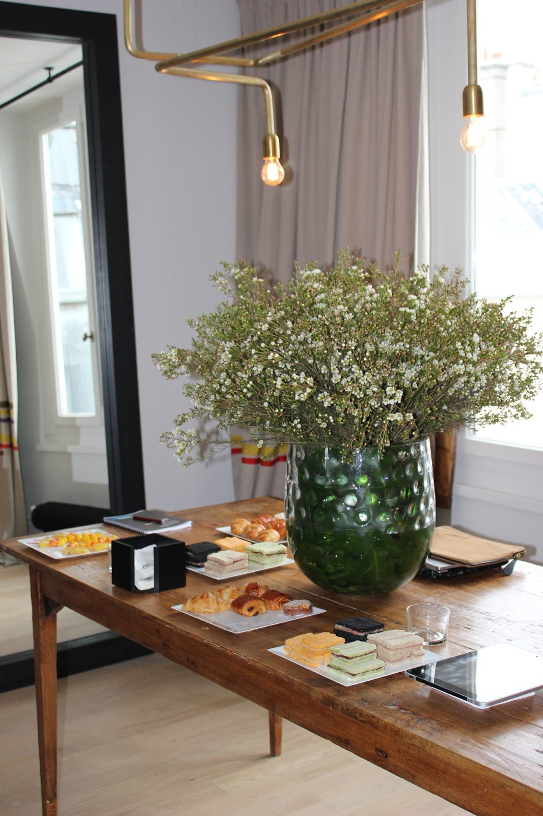 atelier rue verte le blog un brunch tr s d co chez. Black Bedroom Furniture Sets. Home Design Ideas