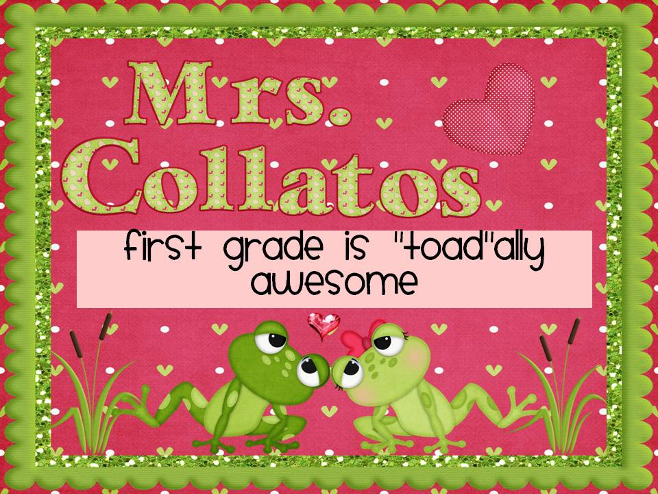First Grade is &#39;Toad&#39;ally Awesome!