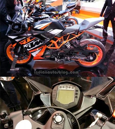 speedometer KTM RC200