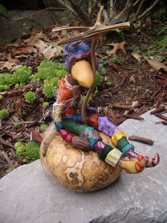 Dyler, atop a Keklenest Gourd
