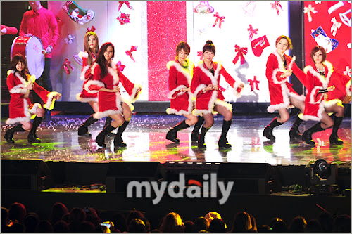 Foto Perform T-ara di Melon Music Awards 2012