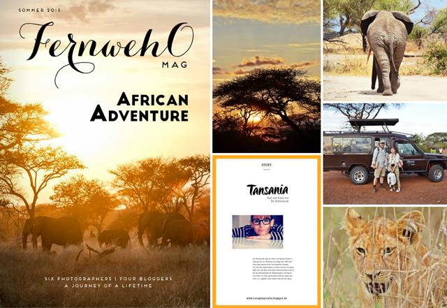 "travel afrika | meine tansania story im fernwehOmag ""african adventure"" | luzia pimpinella"