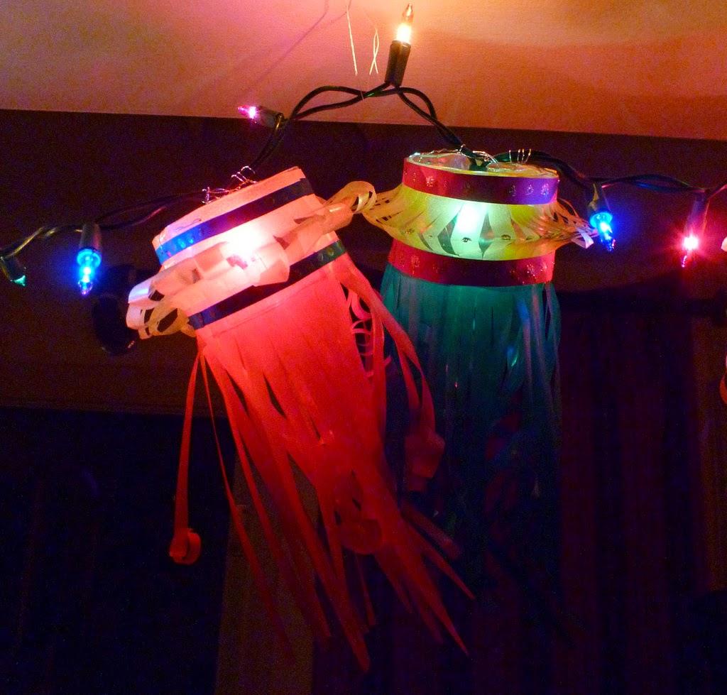 Diwali Crafts For Kids   Kandil Garland / Diwali Basteln Mit Kindern .