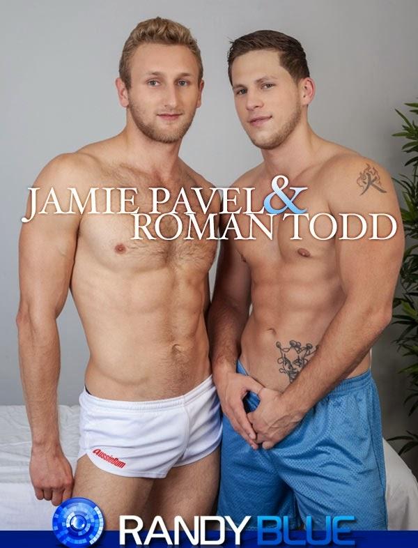 Filme Pornô Gay - Jamie Pavel & Roman Todd