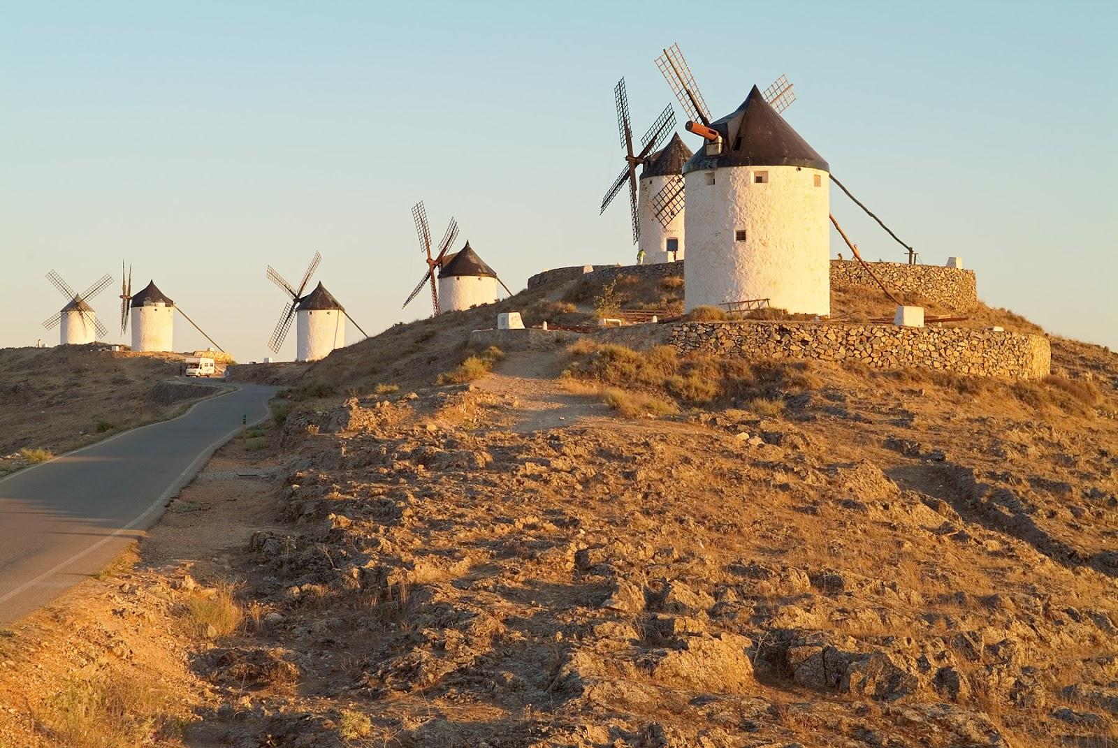 Molinos de viento de Consuegra (Toledo)