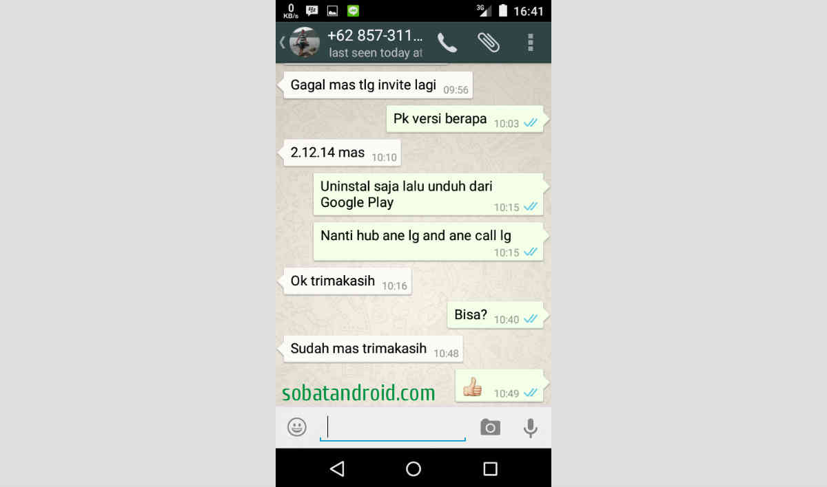 Cara Agar WhatsApp Voice Call Aktif