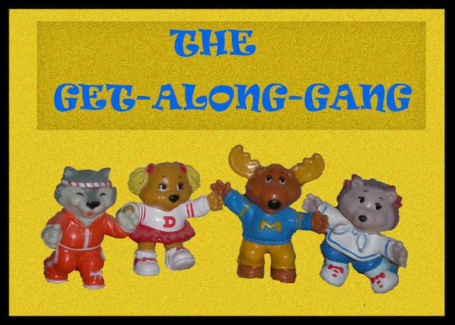 80s Toy Tribute Get-Along-Gang por Dreamerzina