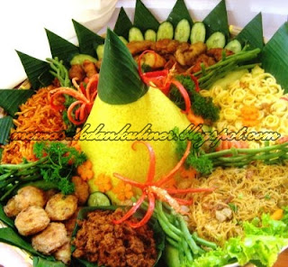 Resep Masakan | Nasi Kuning Komplit