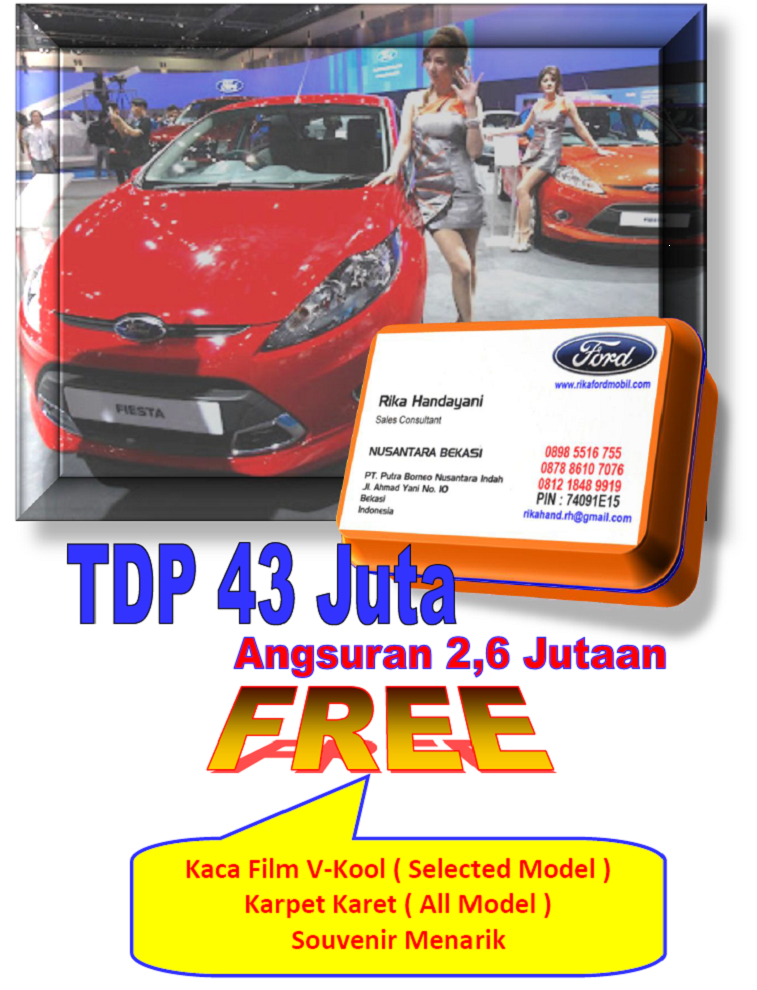Diskon dan Bonus Ford All New Fiesta 2014