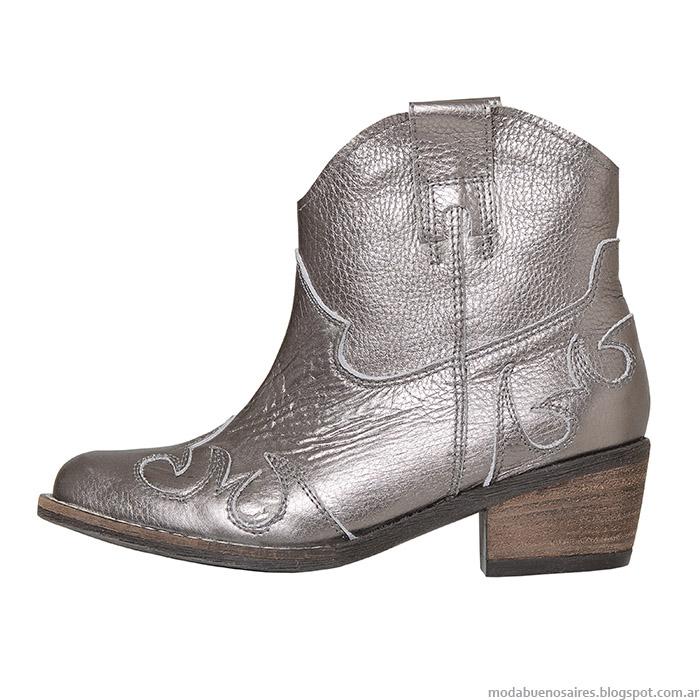 L'Tau otoño invierno 2015 botas texanas continuan vigentes esta temporada de moda otoño invierno 2015.
