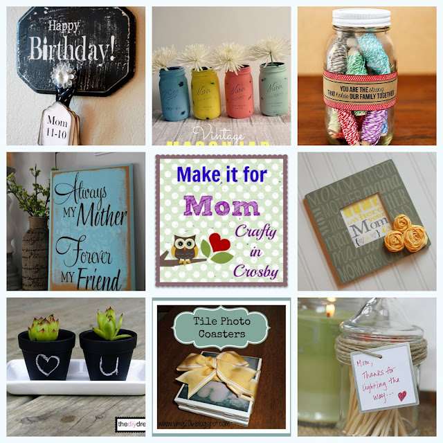 Mother's Day Gift Ideas, Mother's Day Crafts
