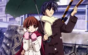 Protagonistas del anime clannad