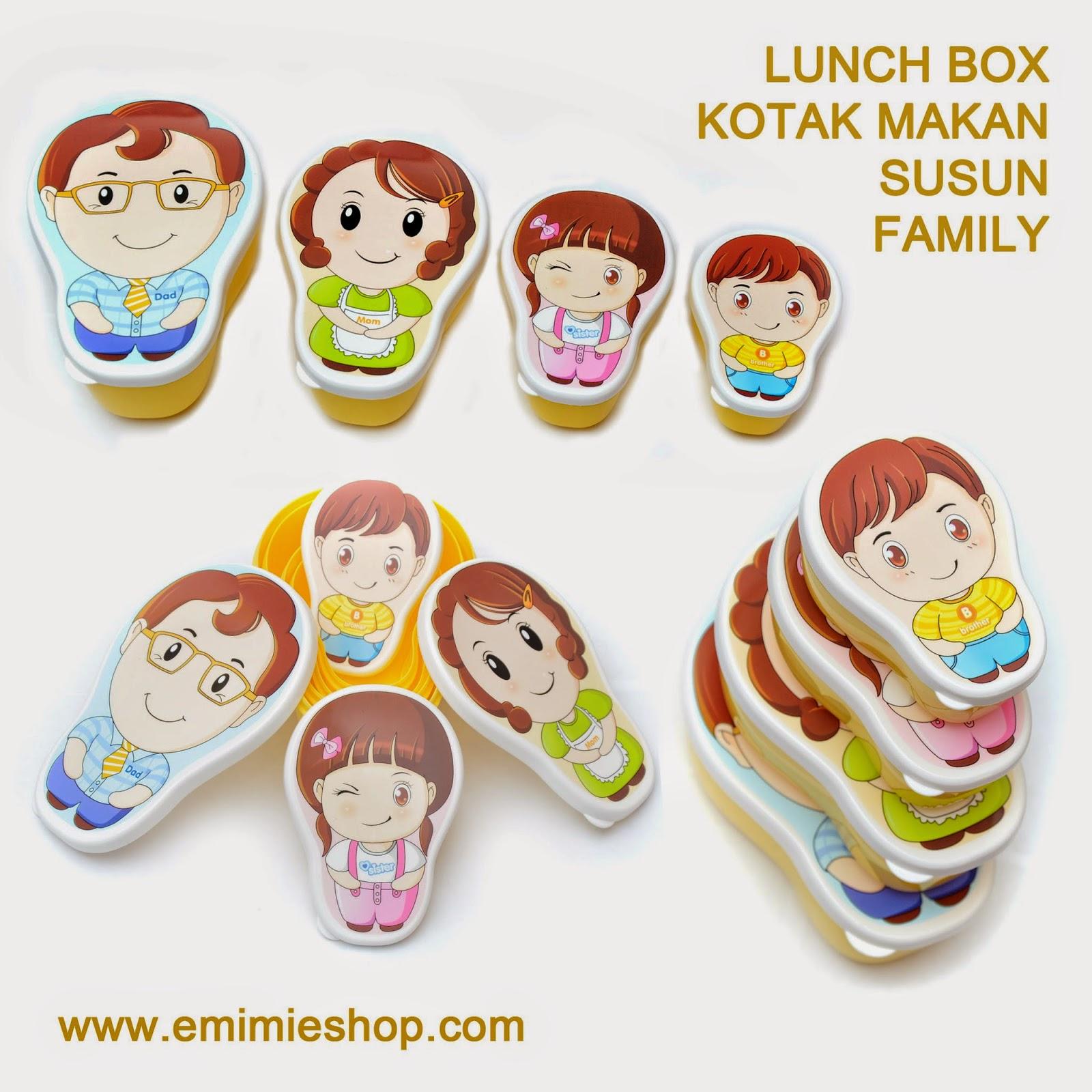 kotak makan family series