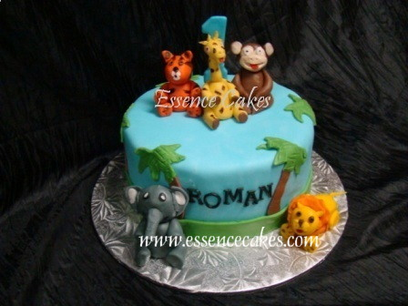 Essence of Cakes Jungle Animal Cake