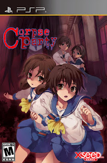 Corpse Party PSP GAME