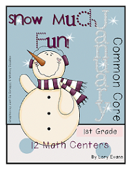 January Math Stations