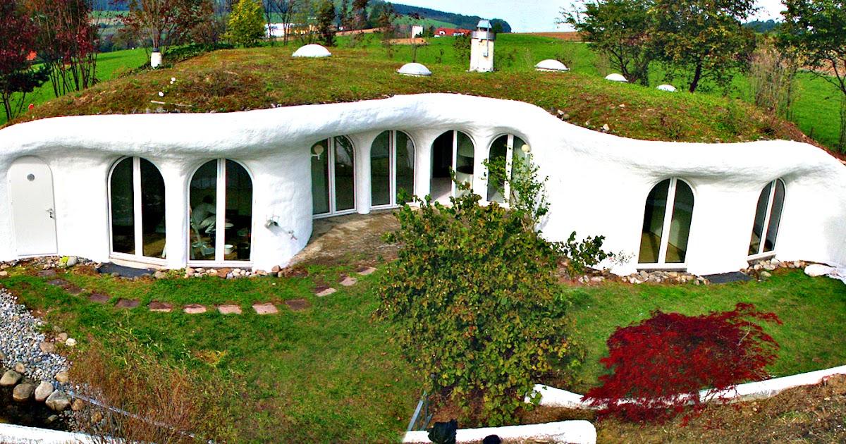 Lifestyle cafe amazing underground homes for Earth house switzerland