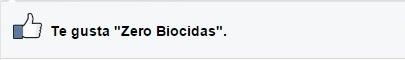 Zero Biocidas en Facebook